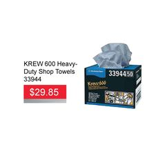 Need ​KREW 600 Shop Towels? There on sale for only $29.85 EA until March 31, 2016. These towels pick up dust like magnets, reducing your need for a re-wipe. It is ideal for changing oil, refilling fluids and general automotive maintenance too.   #krew600  #krew #shoptowels #shoptpwelsale #hamiltonautoparts #autoparts #autopartsstore #aadiscount #…