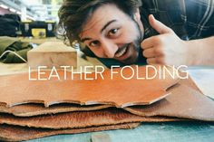 Leather Folding Techniques - Werkplaatsidc