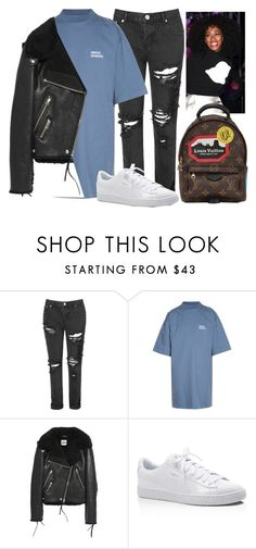 """Our God will stand, unshakable"" by virtualbeautie ❤ liked on Polyvore featuring Glamorous, Vetements, Acne Studios, Puma, Louis Vuitton, louisvuitton, puma and acnestudios"