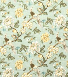 Home Decor Print Fabric-Jaclyn Smith France-Spa