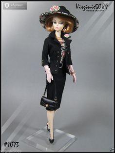 Tenue Outfit Accessoires Pour Barbie Silkstone Vintageintegrity Toys 1073   eBay