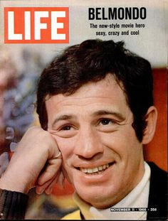 Life magazine, November 11, 1966 — Jean-Paul Belmondo