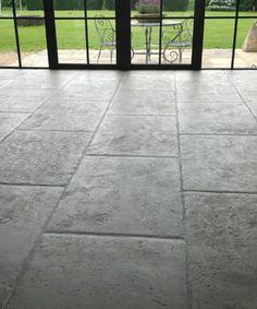 Old stone floor. Grey stone floor thumbnail