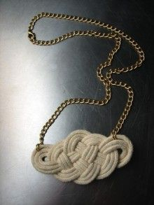 knot necklace
