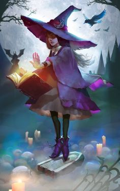 ArtStation - witch, Tatyana Kupriyanova