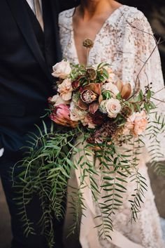 TAKE OUT THE WHITE FLORALS AND ADD SOME DARKER VARIETIES...
