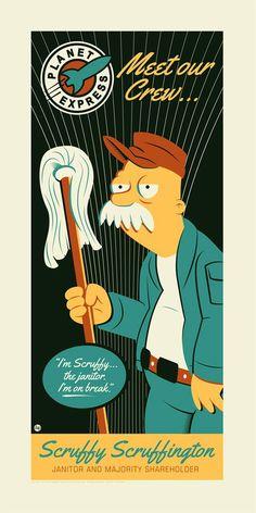 Scruffy by Dave Perillo