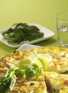 torta salata patate e spinaci