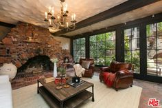 Masculine Vibes - Brit Singer Charli XCX's Hollywood Home is Flush with English Charm - Photos