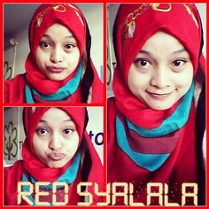 Nynha jawasang love this red syalala