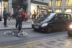 London Black Cab driver 'picked up cyclist and threw him to the ground in row'  #ubered #uber