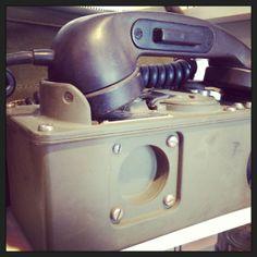 Magneto Field Phone-Bells were needed in loud environments such as gun batteries...learn more...instagram/nhtelephonemuseum