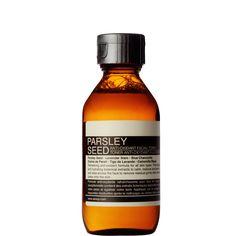 Петрушка Семя Антиоксидантное Тоник для лица. Антиоксидант богатые тонер для всех типов кожи, в том числе сухой и чувствительной.