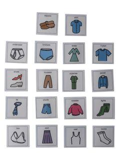 Amazon.com: Autism Supplies And Developments PECS Clothes Labels: Office Products