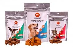 Vivamune Vital Health3 Chews by Avivagen is a supplement with OxC-beta benefits immune system, skin, joint and digestive health for dogs and cats. The product's active ingredient is the result of two decades of research into the health benefits of carotenoids. An alternative to prescription medications or older supplement technologies like omega fatty acids and glucosamine.  www.vivamunehealth.com