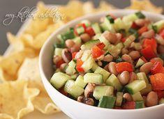 Cucumber bean salsa- good side dish?