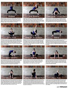 """""""Easy to follow prenatal yoga/stretch routine. Print and pin up!"""" Yoga For Back Pain, Low Back Pain, Prenatal Workout, Pregnancy Workout, Pregnancy Info, Prenatal Yoga Poses, Pränatales Training, Pilates Videos, Back Yoga Stretches"""