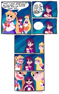 Sailor Moon Space Puns