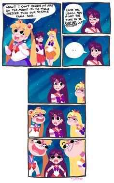 Sailor Moon Space Puns