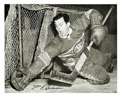 Bill Durnan Montreal Women's Hockey, Hockey Baby, Ice Hockey Teams, Montreal Canadiens, Hockey Highlights, Goalie Mask, Vancouver Canucks, Sports Pictures, Nhl