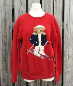 Vintage Men's Ralph Lauren Polo Sport Teddy by TomieHarleneVintage, $112.00