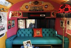 Old Mac Daddy 'The Dirkie Sanchez Suite' Airstream.