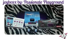 My review on @passionateplayg @myjoyboxx which can be purchase at Shevibe