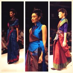 #Smart #Layering of #Sarees with #Ode #Belt by #Payal #Khandwala
