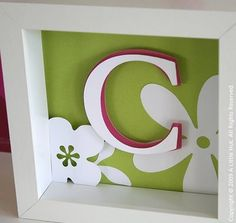 Need to make S http://alittlehut.blogspot.com/2009/06/cricut-expression-review-part-2.html