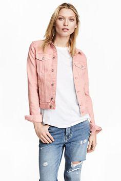 Veste en jean - Rose clair - FEMME | H&M FR 1
