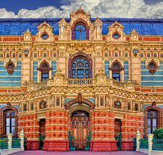 Argentina, Buenos Aires, Palacio de las Aguas Corrientes, 1887- 1894
