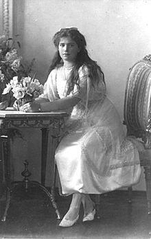 Dochter Anastasia geboren op 5 juni 1901