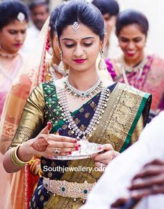 4 Miraculous Cool Tips: Silver Jewelry Beads jewelry organizer stand. South Indian Weddings, South Indian Bride, Kerala Bride, Hindu Bride, Bridal Blouse Designs, Saree Blouse Designs, Dress Designs, Bridal Looks, Bridal Style