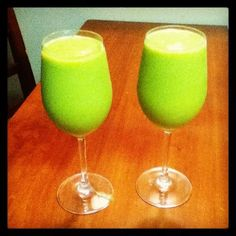 Margaritas made with Vitamix