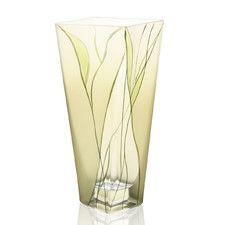 "Evergreen 8"" Square Vase"