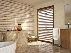 These cream marble effect tiles are modern large wall tiles perfect for bathroom or kitchen tile designs. They co-ordinate wonderfully with other tiles from the Nairobi range. Contemporary Tile, Contemporary Bathrooms, Wall And Floor Tiles, Wall Tiles, Tile Warehouse, Large Format Tile, Kitchen Tiles Design, Large Bathrooms, Marble Effect
