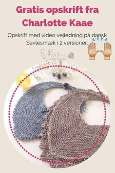 Få din gratis opskrift her.dk Få din gratis opskrift her. Knitting For Beginners, Knitting For Kids, Baby Knitting Patterns, Baby Patterns, Free Knitting, Crochet For Kids, Crochet Baby, Knit Hat Pattern Easy, Crochet Pattern
