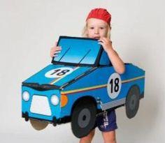 coche de cartón para niños y niñas  cartón,pintura  base agua serigrafía,troquel