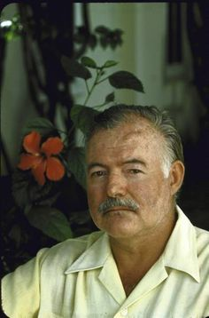 Hemingway was notoriously fond of drinking, but he refrained from indulging while writing