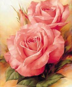 Rosas cor de rosa...