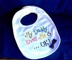 Embroidered bib  Kentucky UK Wildcats Blue by YouandMEembroidery, $11.00
