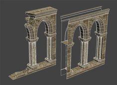 Vlad Dergachov __portfolio__ Prop Design, 3d Design, Diorama, Castle Project, 3ds Max Tutorials, Game Props, Low Poly Models, 3d Tutorial, Game Assets