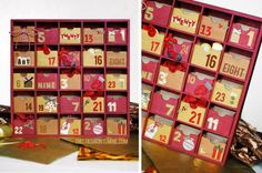 24 Ways To Count Down To Christmas Diy Advent Calendar, Advent Calendars, Christmas Countdown, Christmas Crafts, Homemaking, Counting, Make Your Own, Messages
