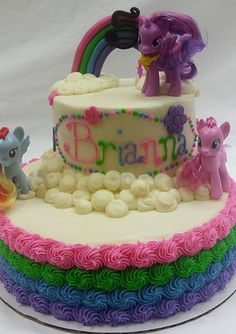 pictures of my little pony birthday cakes - Google Search