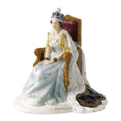 Queen Diamond Jubilee Royal Doulton Figurine - limited edition of 4000.