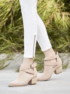 Suede booties | Sole Society Azure