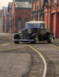 1932 Ford Cabriolet by Richard  Small,