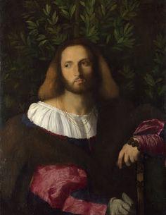 Portrait of a poet   Palma Vecchio  about 1516 #renaissance art #Venetian school