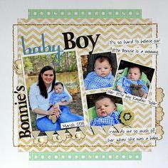 Bonnies Baby Boy - Scrapbook.com