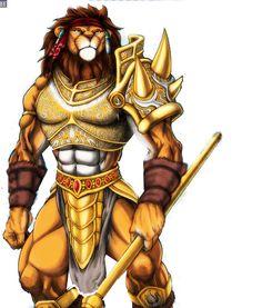 Lion Warrior | Lion Warrior Graphics Code | Lion Warrior Comments & Pictures